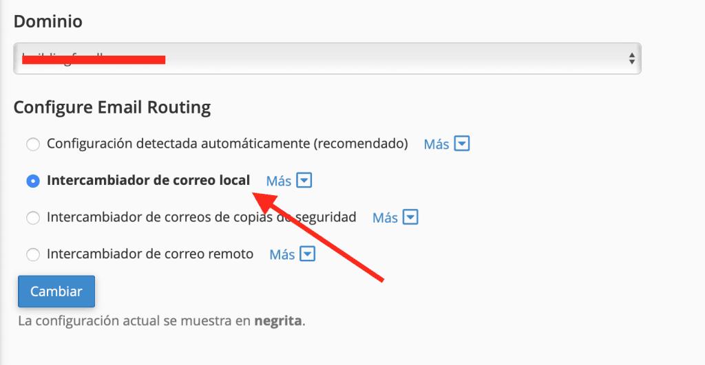 Cómo recibir correos en Google Suite y cPanel al mismo tiempo 2