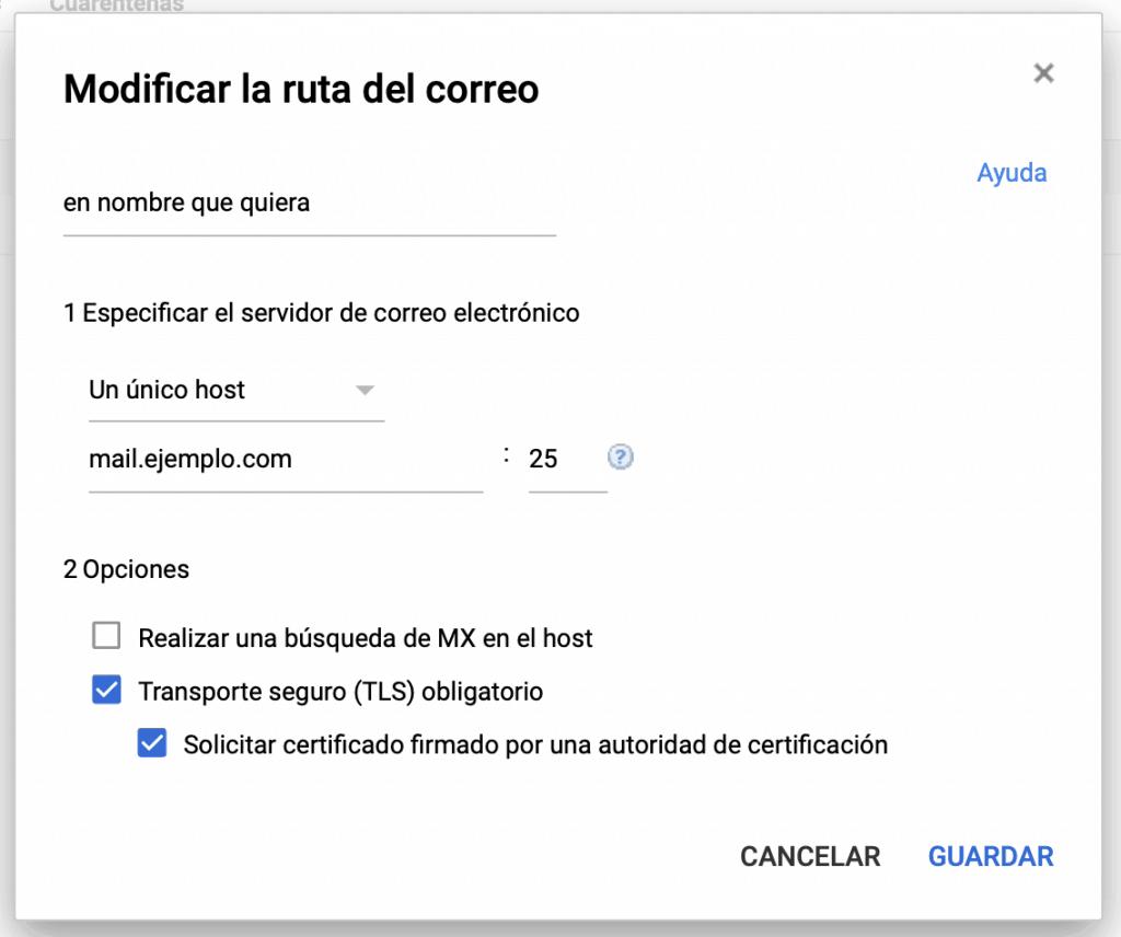 Cómo recibir correos en Google Suite y cPanel al mismo tiempo 4